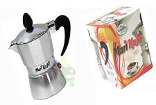 Caffettiera caffettiere moka moca caffè cooffe espresso in alluminio  1/2 TAZZA