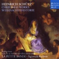 LA PETITE BANDE/SIGISWALD KUIJKEN - CHRISTMAS WORKS-WEIHNACHTSHISTORIE  CD NEU