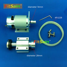 FitSain-Mini table saw for saw blade 16mm/20mm spindle Pulley 775 24V 8000RPM