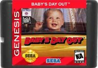 Baby's Day Out (1994) 16 Bit Game Card For Sega Genesis / Mega Drive System