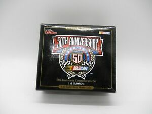 1998 RACING CHAMPIONS 50TH ANNIVERSARY COMMEMORATIVE SET  Limited edition 1/64