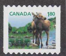 Canada 2012 - #2512i Baby Wildlife (Moose) - Die-cut bk - Unused