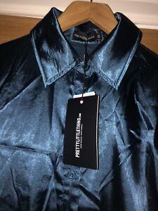 Satin Shirt Size Small