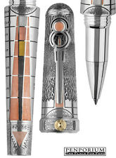 "MONTEGRAPPA ALCHEMIST ""EARTH"" STERLING SILVER LIMITED EDITION ROLLERBALL PEN"