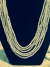 Freshwater Pearl Necklace - 6 strands
