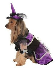Rubie's Pet Costume, Purple Witch Dress And Hat (LARGE)