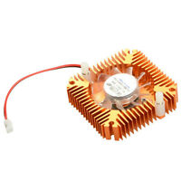 Aluminum Cooling Fan Heatsink Cooler Fit For PC Computer VGA Video Card CPU HI