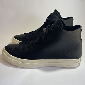 Converse Chuck Taylor All Star Prime High Top Leather Black Size 10 154836c New