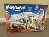 PLAYMOBIL Space Mars Research Vehicle & Goodman  74 Pieces #9489 (New/Sealed)