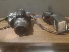 Sony Alpha DSLR-A330 10.2MP Digital SLR Camera - Brown (Kit w/ DT SAM 18-55mm L…