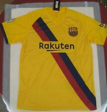 FC Barcelona Jersey Yellow Adults Size Medium