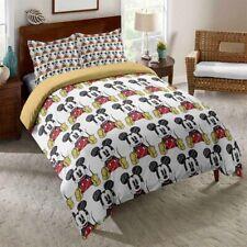 3D Cartoon Mickey Mouse Duvet Cover Twin/Full Bedding Comforter Cover Pillowcase
