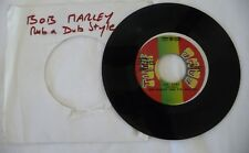 BOB MARLEY WAILERS « BAD CARD » TUFF GONG VINYL 45 T / REGGAE