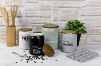 Villa D'Este Home Linea Idee Modern barattolo Sale Caffè Zucchero Biscottiera