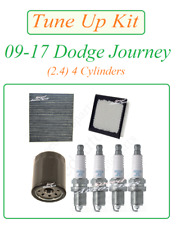 Tune Up For 09-17 Dodge Journey 2.4 L4: Spark Plugs Air Filter Cabin& Oil Filter