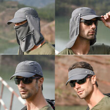 4 In 1 Hot Hiking Fishing Hat Outdoor Sport Sun Protection Neck Face Flap Cap