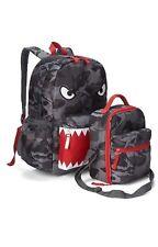 c27708499145 GAP KIDS BOYS GIRLS SENIOR BACKPACK LUNCH BAG SCHOOL Gray shark NEW