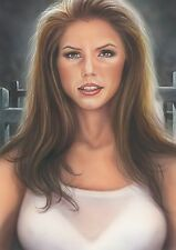 buffy the vampire slayer-12 original print a4  by duncan gutteridge