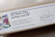 HP Matte Film 24in x 120ft  (51642A) Transparency Film Roll - Papel Impresora