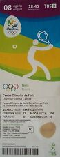TICKET 8.8.2016 Olympia Rio Tennis # T85