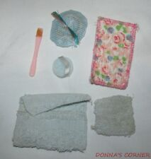 1961-62 Singing In The Shower Accessories And Washcloth From 1965 Beauty Bath