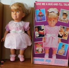 "MICHELLE 15"" Talking Doll in Pink as featured on FULL HOUSE 1990 MIB w/ Access."