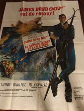 Au Service Secret De Sa Majesté / James Bond / Affiche / Cinéma