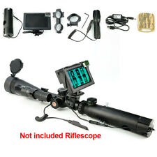 "Day&night Riflescope Add On DIY Night Vision Scope w/4.3""Green Screen"