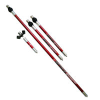 Red Archery Carbon Stabilizer System Balance Rod Extend Bar Recurve Compound Bow