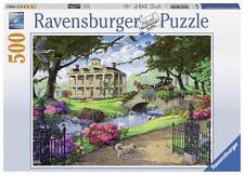RAVENSBURGER JIGSAW PUZZLE VISITING THE MANSION 500 PCS  #14690