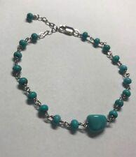 turquoise bracelet Silver homemade
