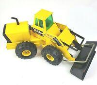 Vtg Yellow Steel Metal Tonka Mighty Diesel XMB-975 Front End Loader #54240