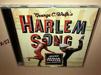 Geroge C Wolfe HARLEM SONG Original Apollo Theater Cast Recording Musical ost CD