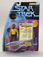 1997 Playmates Star Trek Warp Factor Series 1 Captain Benjamin Sisko Figure Toy