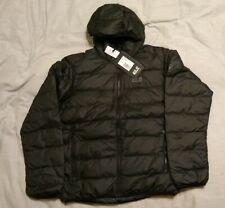 JACK WOLFSKIN Men's Helium Snow Windproof Down Puffer Jacket L, Black, MSRP $169