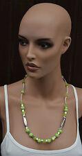 Halskette Kette: de charrue, Modeschmuck ähnlich Art Deco Kubismus