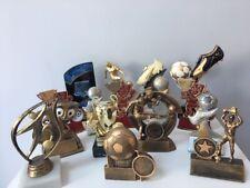Job Lot 16 Small Football Trophies - Free Engraving