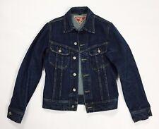 Meltin pot giubbino giacca jeans jacket S blu donna vintage usato denim T2615