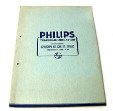 Philips Beschreibung Oszillograph mit schneller Zeitbasis, Baumuster SGM 120/00