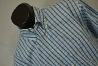 20202 Mens Charles Tyrwhitt Non-Iron Long Sleeve Plaid Dress Shirt Size Large