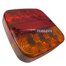 LED Autolamps 99AR 12 Volt 99 Series Trailer Stop Tail and Indicator Light