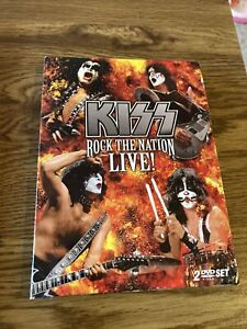 KISS Rock the Nation LIVE 2 DVD Set Bonus Features, Kiss Powervision Documentary