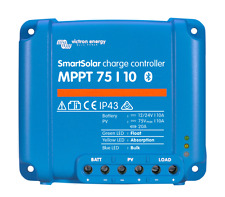 Solar Laderegler Victron SmartSolar MPPT 75/10  für 12 + 24 Volt, mit Bluetooth