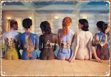 Aquarius Pink Floyd Back Art Tin Sign