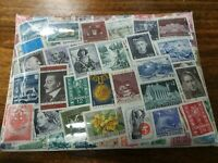 Lot of 100 mostly 20th c Stamps - AUSTRIA HISTORY/ART - Dagmar's Shop Speyer GE