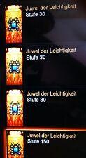 Diablo 3 Ros - 25 x Juwel der Leichtigkeit  - Item lvl 1 Cube  - PS4 / Xbox One
