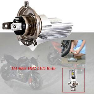 H4 9003 HB2 LED Bulb Hi/Lo Beam HID Motorcycle Headlight High Power High quality