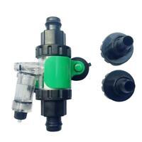 Aquarium CO2 Diffuser Enhanced Dissolution with Bubble Counter Check Valves