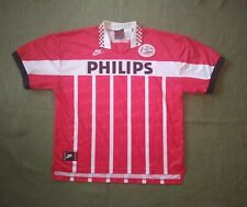 PSV EINDHOVEN NETHERLANDS 1995/1996 HOME FOOTBALL SHIRT NIKE PHILIPS