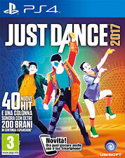 Just Dance 2017 PS4 Playstation 4 IT IMPORT UBISOFT